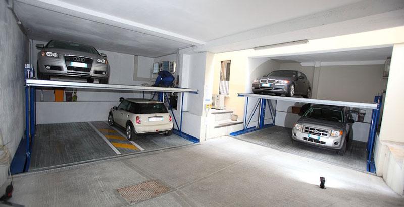 Vente et installation de syst mes de stationnements for Garage reprise voiture non roulante