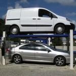 4 colonnes pour 2 voitures