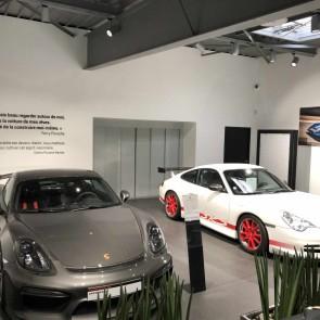 Ascenseur voiture Porsche Nantes